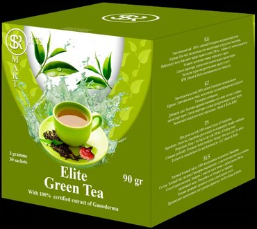 Ganoderma green tea в Лебединовка