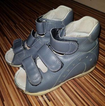 сандалии 27 размер в Кыргызстан: Ортопедические кожаные сандалии фирмы Персей Орто(Россия),в хорошем