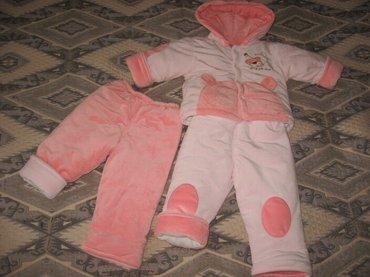 детская осенняя одежда в Кыргызстан: Продам детский комплект тройка, очень хорошо подойдёт до морозов -5