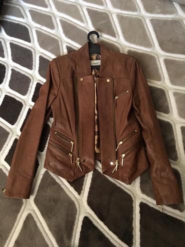Женские куртки в Кыргызстан: Куртка кожаная, размер M-S, покупалась в Стамбуле, Турция. Новая