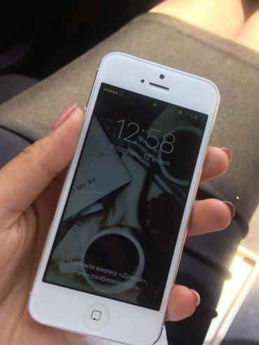 Продаю Айфон 5, 16ГБ. Серый.Обмена нет!!! в Кок-Ой