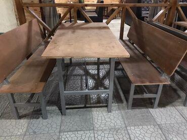 маникюрный стол бишкек в Кыргызстан: Комплект стол и стулья   Для кафе, ресторанов   на 4-6 персон