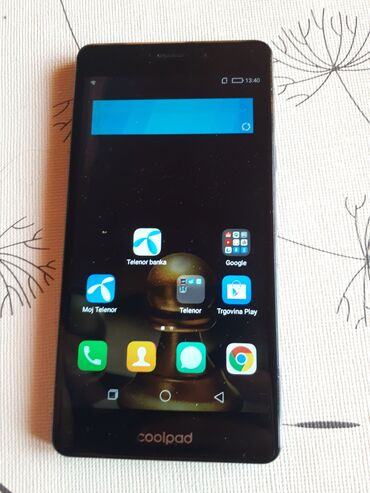Elektronika | Novi Sad: Poptuno ispravan i funkcionalan android telefon Coolpad E502, radi na