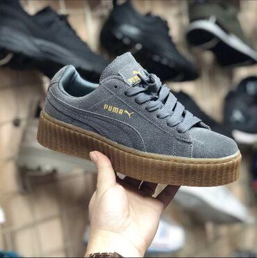 Кроссовки и спортивная обувь - Лебединовка: Puma by Rihhana velvet grey . Ниже цены нет нигде    Возможна бесплатн