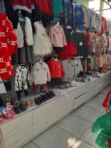 стойки для одежды кронштейны в Кыргызстан: Продаётся мебель для торговли детскими вещами, можно использовать