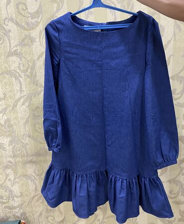 отдам в Кыргызстан: Продаю б/у джинсовое платье-туника. Надевали 2 раза практически новое