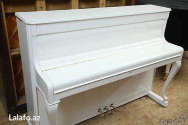 Bakı şəhərində Yaponiya, Avropa ve Rusiya istehsalı pianoların 5 il zemanetle