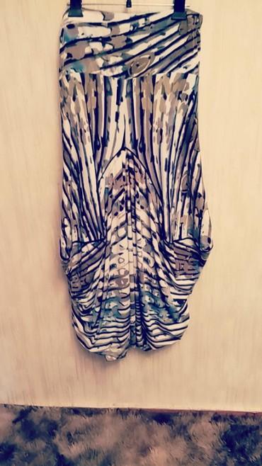 Юбка брюки в стиле бохо. для тех кто в теме.размер 48-50. 800 сом