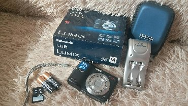 видеокамеру panasonic hdc mdh1 в Кыргызстан: Фотоаппарат Panasonic Lumix LS6 В набор входит: фотоаппарат,аккомулято