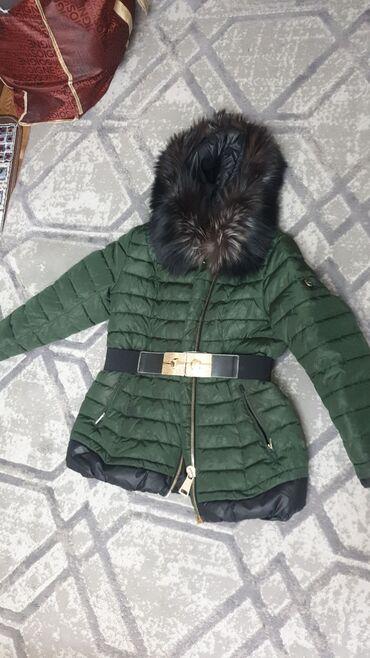турецкая мебель в бишкеке в Кыргызстан: Турецкая очень тёплая куртка,мех чернобурка