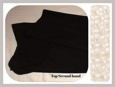 5.5. Crne elegantne XXL pantalone TOP CENA★-26.9.✼Crne elegantne