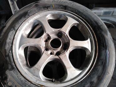 4 114 3 диски в Кыргызстан: Продаю диски с резиной подходят на Тойота Хонда Хендай итд 205/65/16 р
