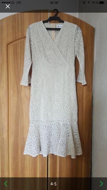 гипюр платье в Кыргызстан: Красивая платья гипюр размер m-l или обмен