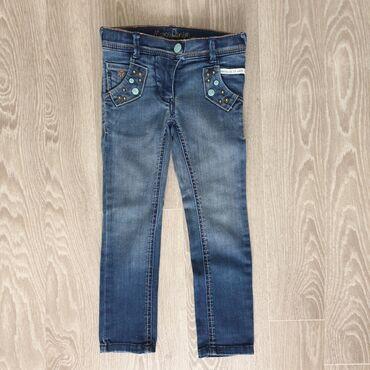 Фирменные джинсы Mexx для стройной девочки 4-5 лет в идеальном