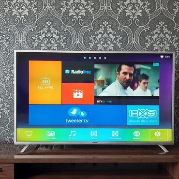 джойстик андроид в Кыргызстан: Продаётся led телевизор YASIN (58E5000) на андроиде Диагональ