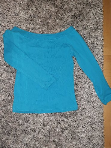 Style-majica-leptir-rukavi-crna-marka - Srbija: Plavi MNG original duksic / body majica, 3/4 rukavi