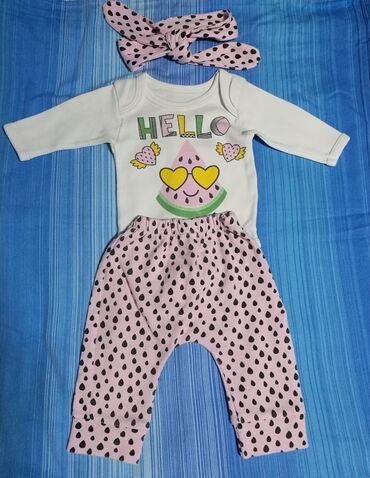 Ostala dečija odeća   Kikinda: Kompletic za 3 meseca