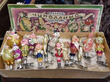 елочные игрушки в Кыргызстан: Куплю советские елочные игрушки (для собственной коллекции)
