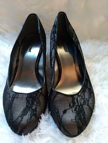 """Cipele. Prelepe """"Graceland"""" cipkaste crne salonke. Predivno stoje. - Prijepolje"""