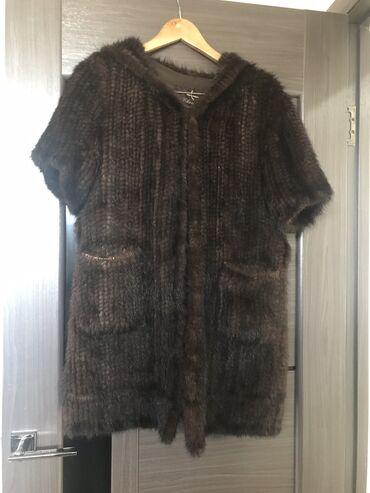 бандаж для руки бишкек в Кыргызстан: Очень теплая накидка из норки вязанная .Рукав 3/4 44/46 размер. К