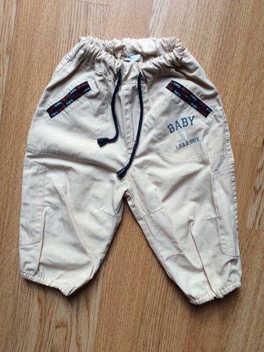 Pantalone za bebe dečake. Veličina 68, za uzrast 3-6 meseci, tanji - Beograd