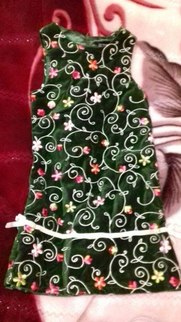 Платье на девочку 6 лет. Качество супер. в Бишкек