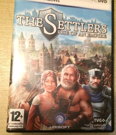 Igra pc the settlers strategija original cd - Plandište