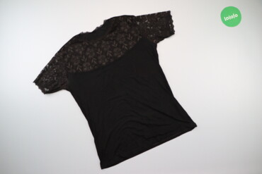 1537 объявлений: Жіноча блуза з ажурними вставками, р. S   Довжина: 61 см Ширина плечей