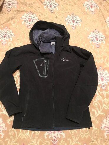 Тёплая куртка ) (можно и зимой) 48 размер  унисекс  отличного качества