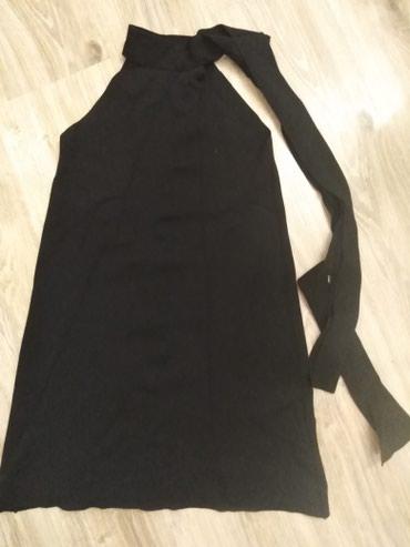 Трикотажные платье Zara с открытии плечами в Бишкек