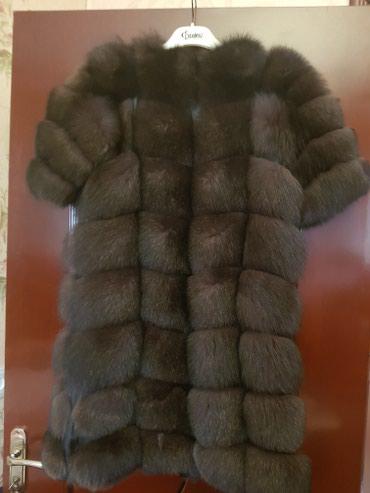 Продаю шубу, мех лиса, длина 90см, рукав в Бишкек
