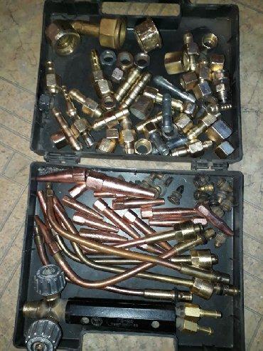 Наборы инструментов - Кыргызстан: Горелка малютка 1500с насадки 350с штуцеры 250с