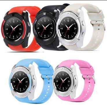 Smart watch v8 pametni sat veliki izbor boja crna,bela,plava,roze,zele - Beograd