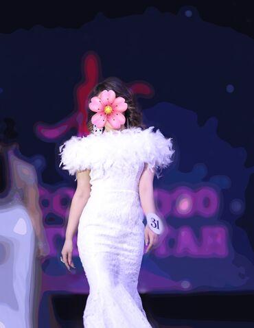 Платье вечернее, свадебное,шикарное на продажу либо на прокат! С длинн