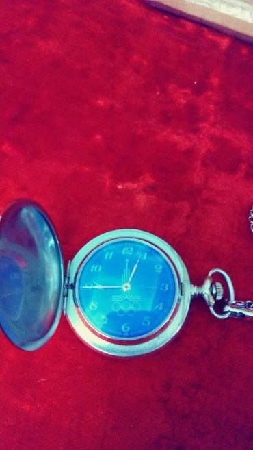 Наручные часы - Кок-Ой: Карманые часы олемпиада 80