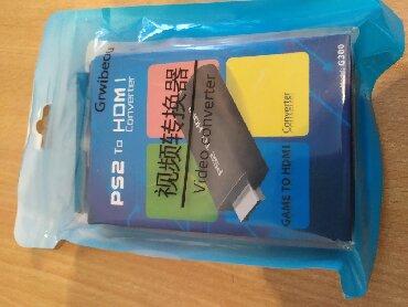 playstation-buy в Кыргызстан: Продаю новый переходник - HDMI to PS2, переходник для подключения