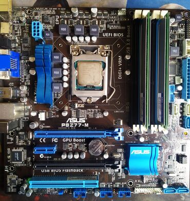 Продаю игровой Комплект.Материнская плата Asus Z 77 -MПроцессор i5