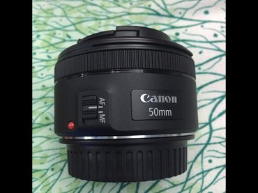 New canon 50mm 1:1. 8 portrait lens. A must have for camera in Madhyapur Thimi