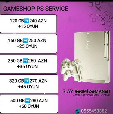 hard disc - Azərbaycan: PlayStation 3 konsollari✓Xaricden gelir✓Hamisi ela veziyyetde,hard