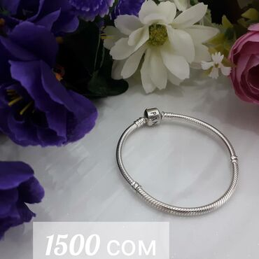 Браслеты - Кыргызстан: Пандора+шармы, распродажа  браслет серебро 925,  шармы  серебро 925
