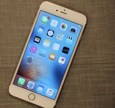iphone 6s plus цена в бишкеке в Кыргызстан: Б/У iPhone 6s 64 ГБ Белый