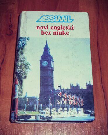 Knjige, časopisi, CD i DVD | Loznica: ASSIMIL Novi engleski bez muke Nolit 1990.578 str.tvrd povez,veoma