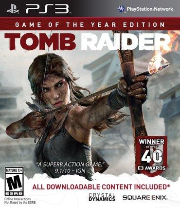 """Bakı şəhərində """"tomb raider"""" game of the year edition ps3 oyunu"""