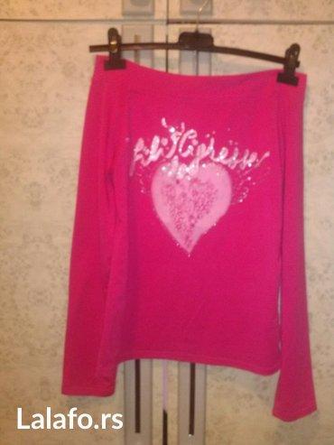 Ženska odeća | Kovin: Pink bluza sa golim ramenima