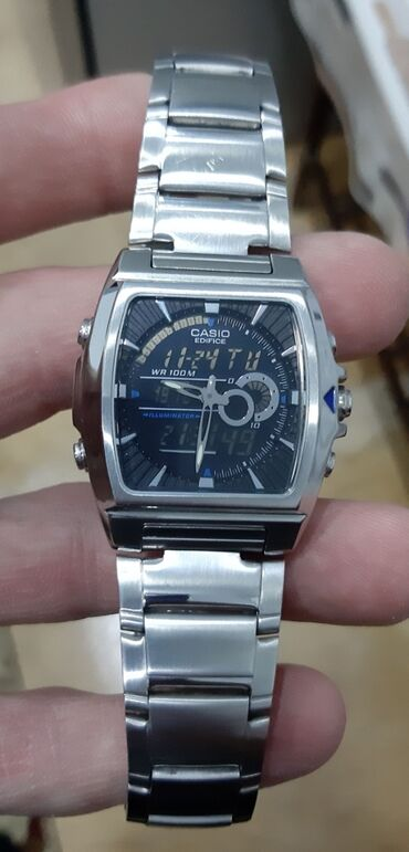 Qol saatları - Hövsan: Gümüşü Kişi Qol saatları Casio
