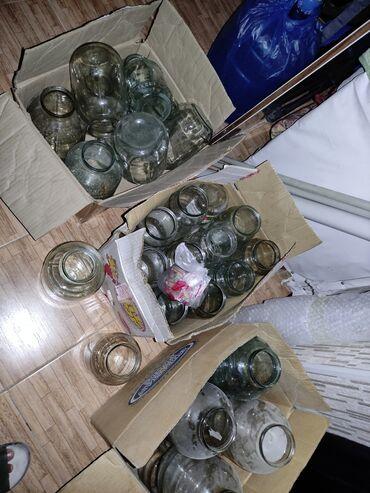 стеклянные банки бишкек in Кыргызстан | ДРУГАЯ ПОСУДА: Г.Бишкек, Продаю стеклянные банки