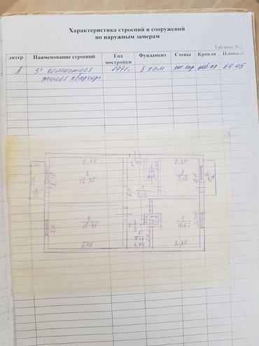 Недвижимость - Балыкчы: 3 комнаты, 65 кв. м