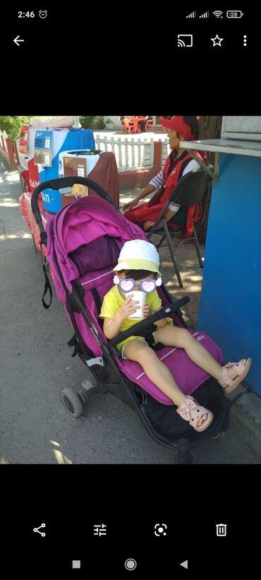 Продаю летнюю коляску чемодан Bene baby. Розовая, легко собирается