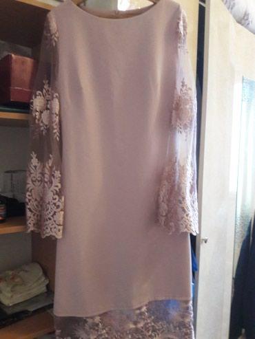 Платье одеть 42 разм 1раз на выпусн сост в Бишкек