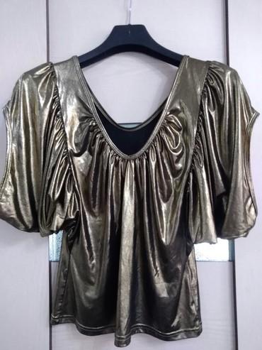 трикотажная рубашка в Кыргызстан: Блузка трикотажная, размер 44-48, обращаться по телефону